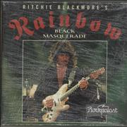 Click here for more info about 'Rainbow - Black Masquerade - Red Vinyl - RSD'