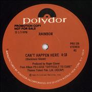 Click here for more info about 'Rainbow - Can't Happen Here'