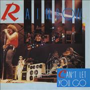 Click here for more info about 'Rainbow - Can't Let You Go'
