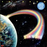 Click here for more info about 'Rainbow - Down To Earth - Clear - Stickered - Complete'