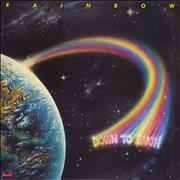 Click here for more info about 'Rainbow - Down To Earth - Clear Vinyl'
