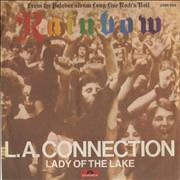 Click here for more info about 'Rainbow - L.A. Connection - Red Vinyl + P/S'