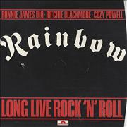 Click here for more info about 'Rainbow - Long Live Rock N Roll - P/S'