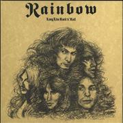 Click here for more info about 'Rainbow - Long Live Rock 'n' Roll  - Orange and Black Vinyl'