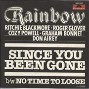 Click here for more info about 'Rainbow - Since You Been Gone'