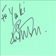 Click here for more info about 'Ralph McTell - Page Of Autograph Book'