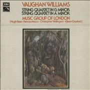Click here for more info about 'Ralph Vaughan Williams - String Quartet In G Minor / String Quartet In A Minor'