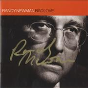 Click here for more info about 'Randy Newman - Bad Love - Autographed'