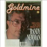 Click here for more info about 'Randy Newman - Goldmine - September 1995'