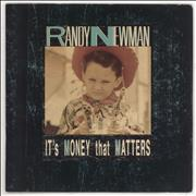 "Randy Newman It's Money That Matters UK 7"" vinyl"