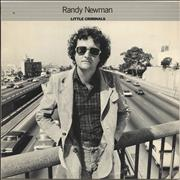 Randy Newman Little Criminals Canada vinyl LP
