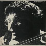 Randy Newman Live USA vinyl LP