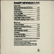 Click here for more info about 'Randy Newman - Live'