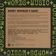Click here for more info about 'Randy Newman - Words + Music: Randy Newman's Faust'