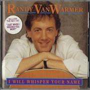 Click here for more info about 'Randy Vanwarmer - I Will Whisper Your Name'