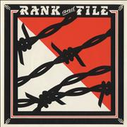 """Rank And File Rank And File UK 7"""" vinyl"""