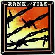 Rank And File Sundown UK vinyl LP