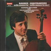 Click here for more info about 'Raphael Wallfisch - Barber: Cello Concerto / Shostakovich: Cello Concerto No. 1'