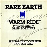 Click here for more info about 'Rare Earth - Warm Ride'