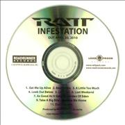 Click here for more info about 'Ratt - Infestation'