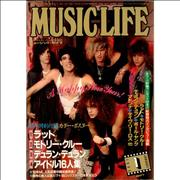 Click here for more info about 'Ratt - Music Life - January 1986'