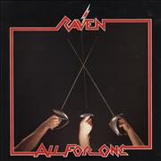 Raven All For One UK vinyl LP