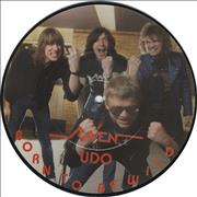 "Raven Born To Be Wild UK 7"" picture disc"