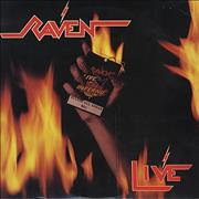 Raven Live USA 2-LP vinyl set