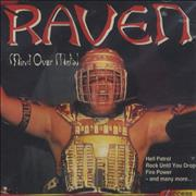 Raven Mind Over Metal UK CD album