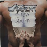 Raven Stay Hard Germany vinyl LP