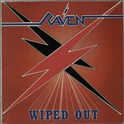 Raven Wiped Out UK vinyl LP