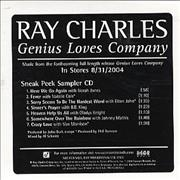 Click here for more info about 'Ray Charles - Genius Loves Company - Sneak Peek Sampler'