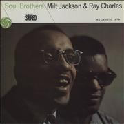 Click here for more info about 'Ray Charles - Soul Brothers - barcoded p/s'