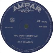 Click here for more info about 'Ray Charles - You Don't Know Me'