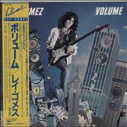 Ray Gomez Volume Japan vinyl LP Promo