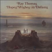 Click here for more info about 'Ray Thomas - Hopes Wishes & Dreams - EX'