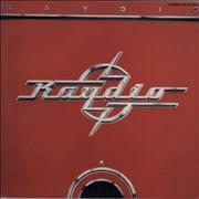 Raydio Raydio Japan vinyl LP Promo