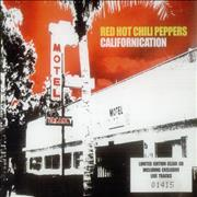 Red Hot Chili Peppers Californication - CD2 UK CD single