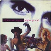 Click here for more info about 'Red Hot Chili Peppers - Higher Ground - 2nd - Paper'