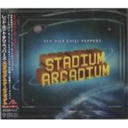 Red Hot Chili Peppers Stadium Arcadium Japan 2-CD album set Promo