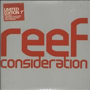 Click here for more info about 'Reef - Consideration - Red Vinyl'