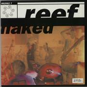 Click here for more info about 'Reef - Naked - Aquamarine Vinyl'