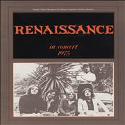 Click here for more info about 'Renaissance - In Concert 1975 + Ticket Stub & Cutting'