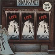 Click here for more info about 'Renaissance - Live At Carnegie Hall - stickered p/s'