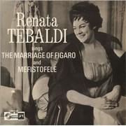Click here for more info about 'Renata Tebaldi - The Marriage Of Figaro / Mefistofele'