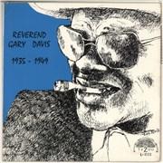 Click here for more info about 'Rev. Gary Davis - Reverend Gary Davis 1935 - 1949'