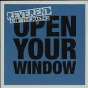 Click here for more info about 'Reverend And The Makers - Open Your Window - 4 tracks'