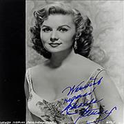 Click here for more info about 'Rhonda Fleming - Autographed Portrait Photograph'