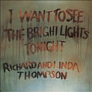 Click here for more info about 'Richard & Linda Thompson - I Want To See - 2nd - Ex'