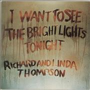 Click here for more info about 'Richard & Linda Thompson - I Want To See - Blue Label - EX'